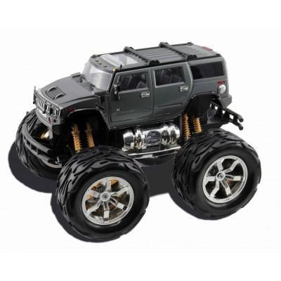 KIDZTECH Masina cu telecomanda Hummer H2 cu roti mari baterii incluse 116