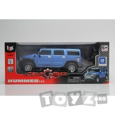 KIDZTECH Masina cu telecomanda Hummer H2 Scara 1:26 baterii incluse