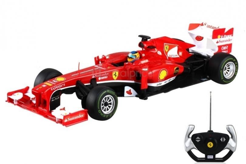 Rastar Ferrari F138 de curse, cu telecomanda, Scara 112