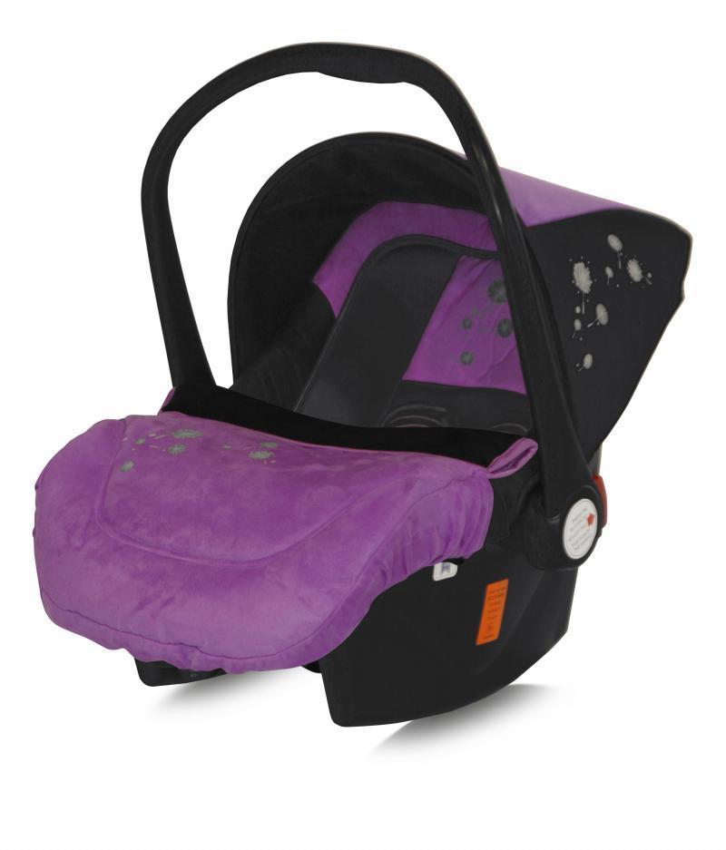"BERTONI Bertoni Cosulet auto ""Lifesaver"" Black & Violet Dandelion (0-13 kg.)"