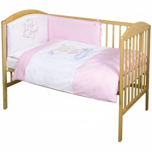 Ceba Baby Ceba Baby Lenjerie de pat cu 3 piese My little Angel