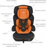 Baby Go BabyGo Scaun auto FreeMove Orange