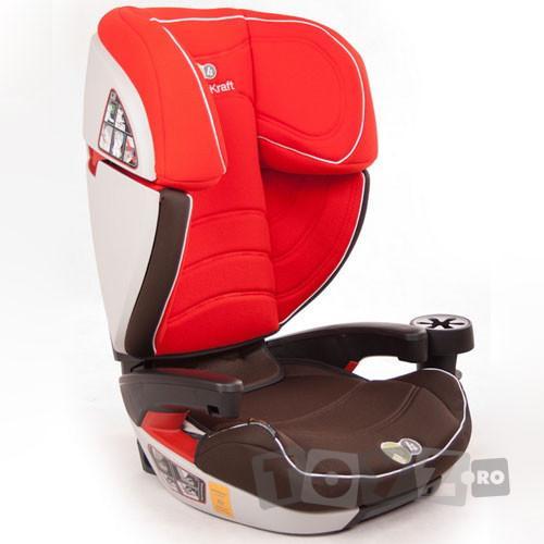 KinderKraft Scaun auto Cocoon Red (15-36 kg)