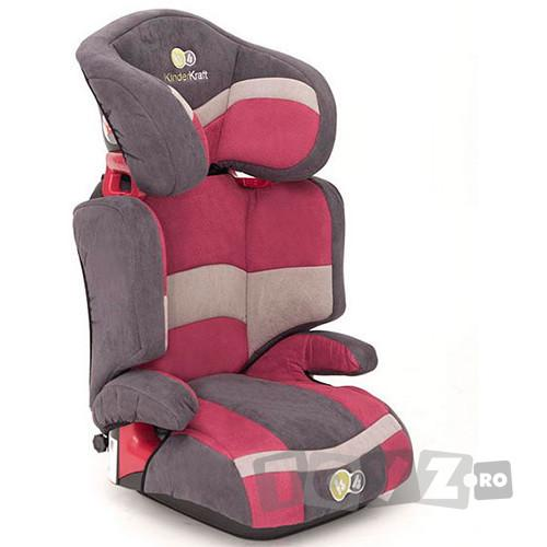 KinderKraft Scaun auto Junior Red (15-36 kg)