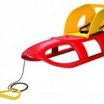 Prodsperplast Prodsperplast – Sanie Bullet Seat rosie / albastra