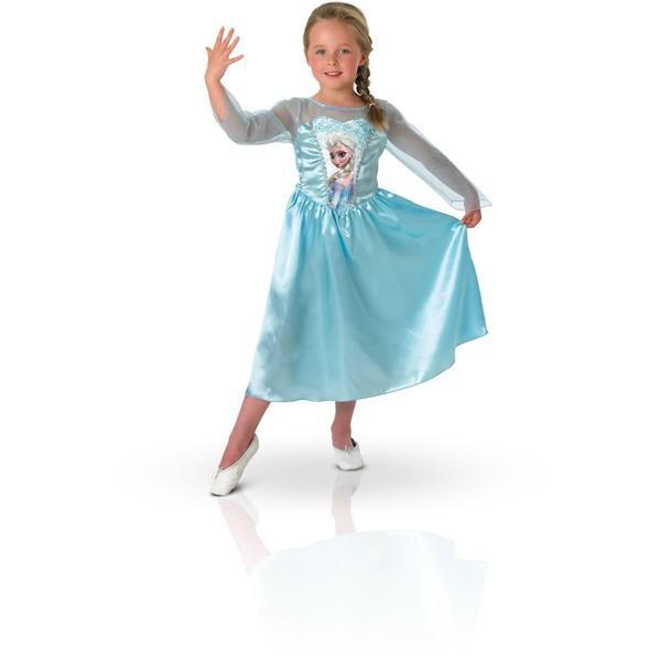 Rubie's Costum de carnaval – ELSA din Frozen (Regatul de Gheata)