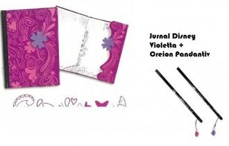 Violeta  Jurnal Magnetic Disney Violetta + Creion pandativ Violetta