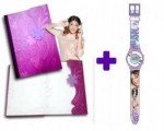 Violeta  New Pack Disney Violetta Jurnal si Ceas digital Love Violetta