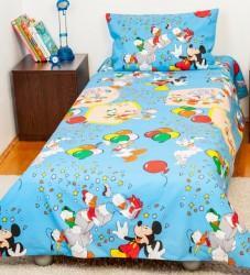 Bebe Deco Bebe Deco Lenjerie pat copii 1 persoana Mickey