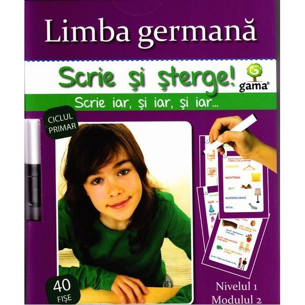 GAMA Scrie si sterge – Limba germana nivelul 1 modulul 2