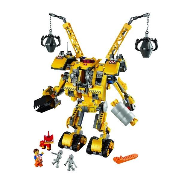 LEGO LEGO MOVIE – Construct-o-Robotul lui Emmet (70814)