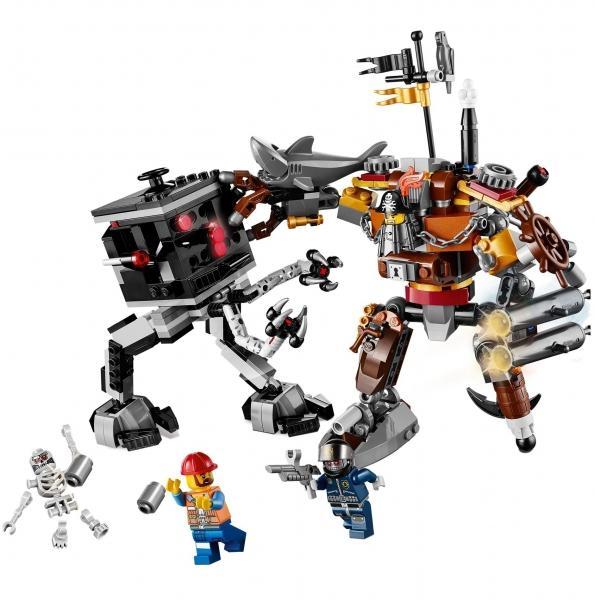 LEGO LEGO MOVIE – Duelul lui Metal Beard (70807)