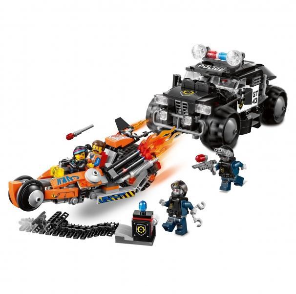LEGO LEGO MOVIE – Marea urmarire pe biciclete (70808)