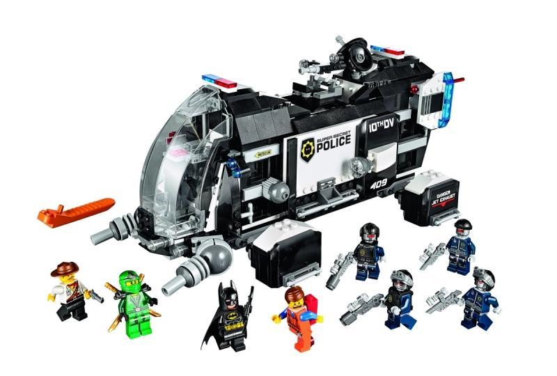 LEGO LEGO MOVIE – Transportor de trupe de politie supersecreta (70815)