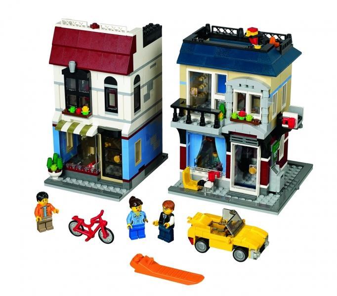 LEGO LEGO Creator – Cafenea si magazin de biciclete (31026)