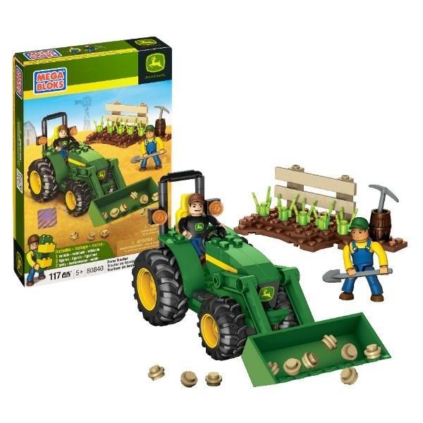 Mega Bloks John Deere Tractor pentru ferma Mega Bloks