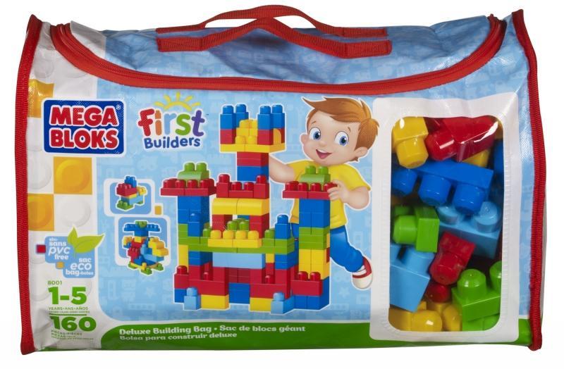 MEGABLOCKS Mega Bloks – Cuburi de Constructie Deluxe (160 piese)
