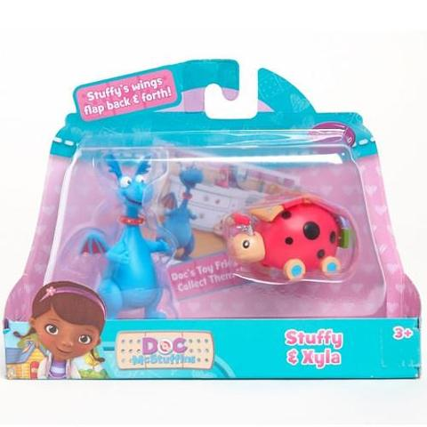 Disney Figurine Doctorita Plusica Stuffy si Xyla
