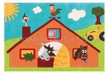 Arte Espina Covor Copii Acril Arte Espina Colectia Sam 4157-52