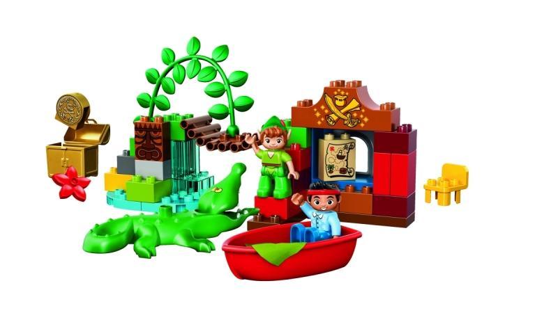 LEGO LEGO DUPLO – Vizita lui Peter Pan (10526)