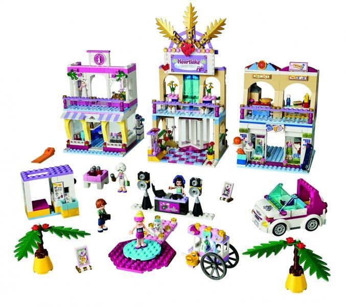 LEGO LEGO Friends – Centrul comercial Heartlake (41058)