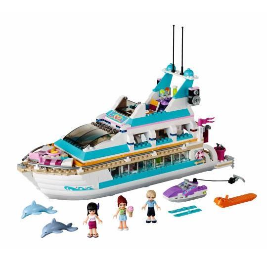 LEGO LEGO Friends – Iaht de croaziera cu delfini (41015)