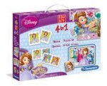 Clementoni Puzzle Edu Kit New 4 In 1 Sofia Intai
