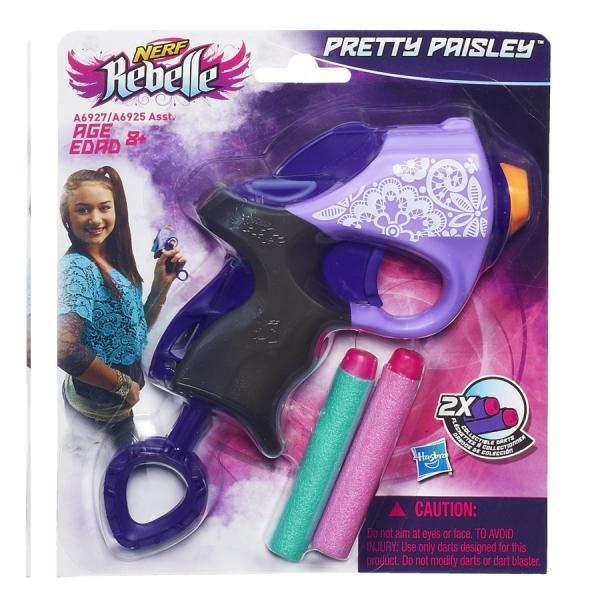 NERF Nerf Rebelle – Mini Blaster Pretty Paisley