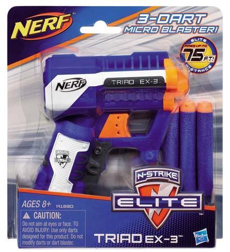 Hasbro NERF N-STRIKE – BLASTER TRIAD EX-3