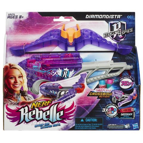 Hasbro Blaster Nerf Rebelle Diamondista