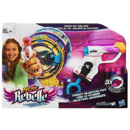 HASBRO HASBRO – Nerf Rebelle Knock Out Gallery