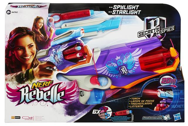 Hasbro Blaster Nerf Rebelle Spylight