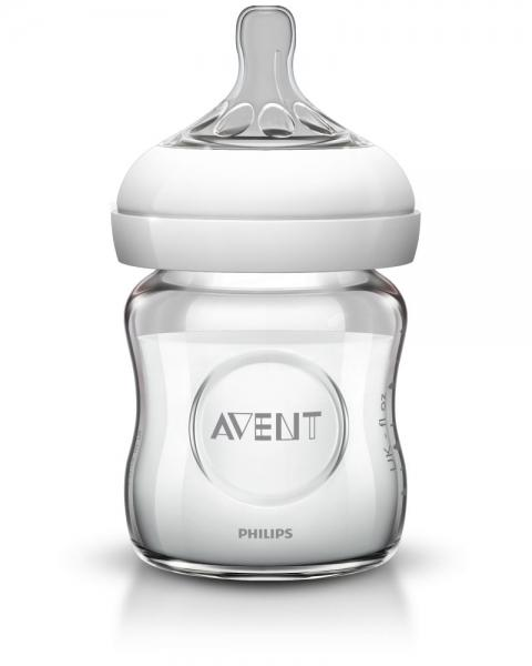AVENT Biberon sticla pura Avent Natural 120ml SCF671/17