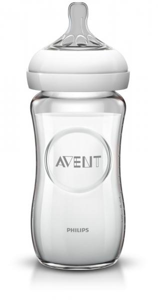 AVENT Avent – Biberon Natural 240 Ml – Sticla Pura