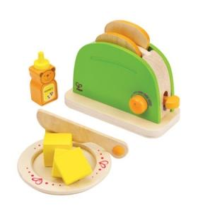 Hape Jucarie eco din lemn Pop-Up Toaster Hape