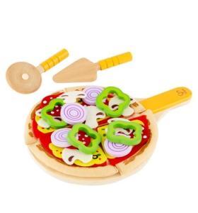 Hape Jucarie eco din lemn Set de facut pizza Hape