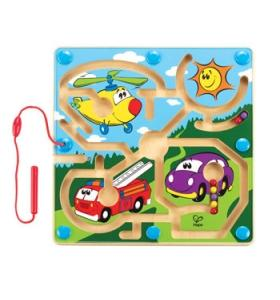 Hape Jucarie eco Labirint Magnetic Mighty Motors Hape