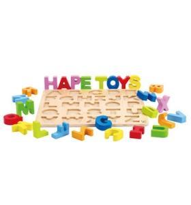 Hape Jucarie eco din lemn Puzzle Alfabet Hape