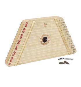 Hape Jucarie eco din lemn Harpa Fericita Hape