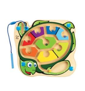 Hape Jucarie eco Labirint Magnetic Colorback Sea Turtle Hape