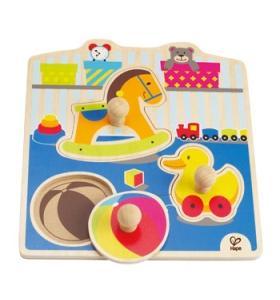 Hape Jucarie eco din lemn Puzzle My Toys Hape
