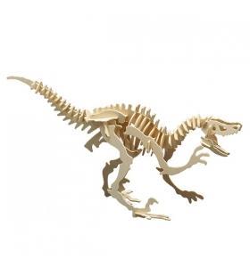 Pebaro Puzzle eco 3D din lemn Velociraptor Pebaro