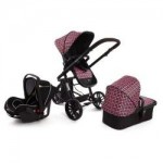 Kinderkraft Kinderkraft Carucior 3 in 1 Trend Purple