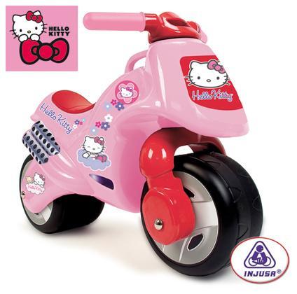 Injusa Injusa – Bicicleta fara pedale Hello Kitty