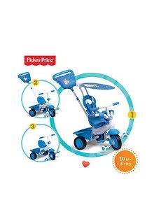 Fisher Price Fisher Price – Tricicleta 3 in 1 Elite albastra