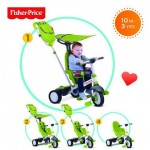Fisher-Price Tricicleta 3 in 1 Charisma Verde