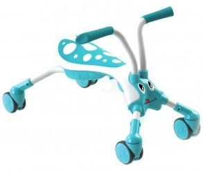 Mookie Mookie – Scramble Bug Splash Aqua/White