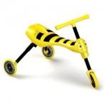 Mookie Mookie – Scuttlebug Bumble Yellow/Black – Tricicleta fara pedale