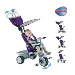 Smart Trike Smart Trike – Tricicleta Recliner Stroller 4 in 1 Purple