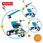 Fisher Price Tricicleta 3 in 1 Charm Albastra Fisher Price
